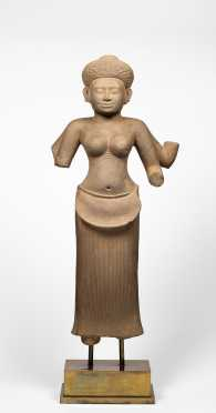 11th-12thC Limestone Figure of Huma