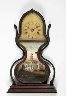Forestville MFG. Co. Acorn Shelf Clock, Bristol
