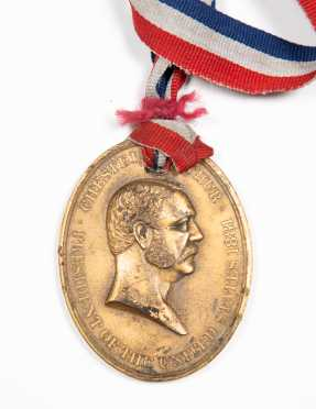 "Southern Express ""Chester Arthur"" Peace Medal"