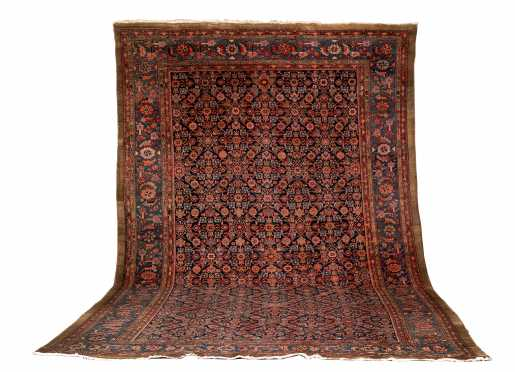 Antique Sarab or Bakshaish Room Size Oriental Rug