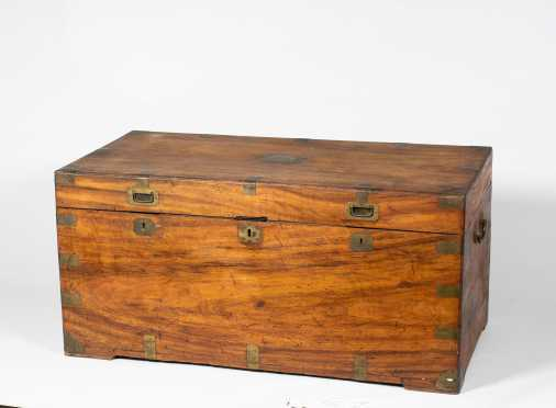 Chinese Export Camphor Wood Blanket Chest
