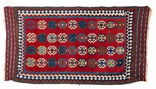 Shiraz Kilim large Scatter Size Oriental Rug