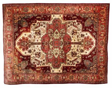 Heriz Style Oriental Rug