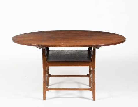 C1800 Oval Top Chair Table