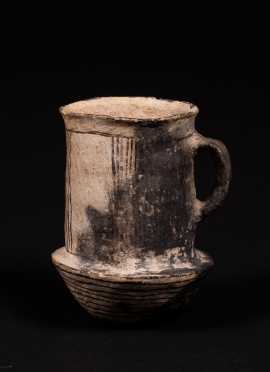 "C1000 AD Native American ""Chaco"" Handled Mug"