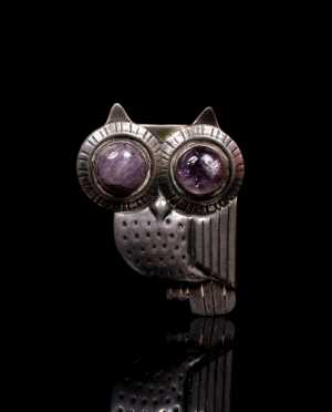 William Spratling Owl Brooch