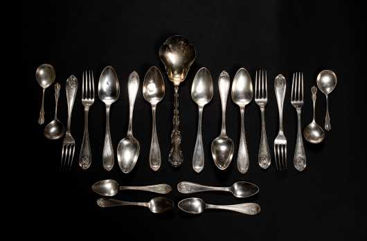 Miscellaneous Lot of Sterling Silver Serving and More