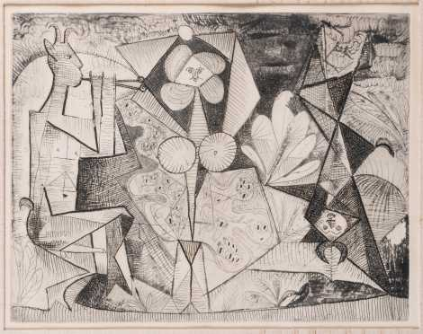 After Pablo Picasso, (1881-1973)
