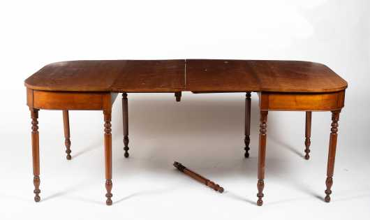 Cherry Sheraton Two Part Banquet Table