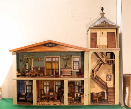 Large Six Room Doll House
