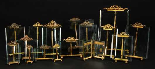 Sixteen French Place Card Holders or Frames