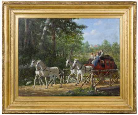 Enoch Wood Perry Jr., NY, MA, CA (1831-1915)