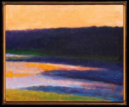 Wolf Kahn, NY, Vermont, Germany (Born 1927)