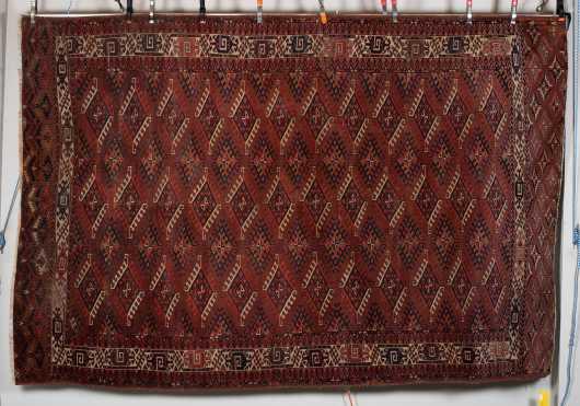 E20thC Tekke Bokhara Room Size Oriental Rug