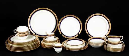 Forty Cauldon England China Luncheon Service