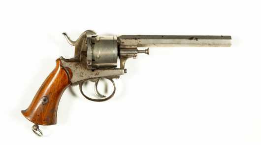 """Belgian """"Liege"""" Revolver"""