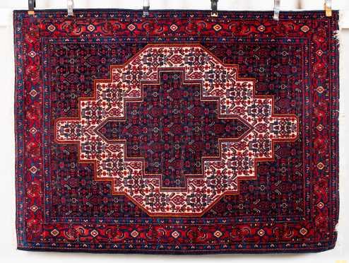 Modern Persian Scatter Oriental Rug