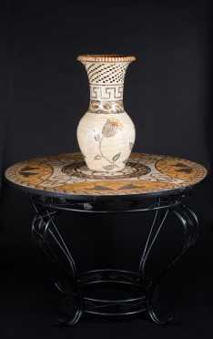 Mosaic Table Top Table