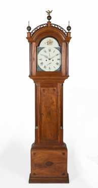 Daniel Monroe, Concord, Mass., (Worked 1798-1804) Tall Clock