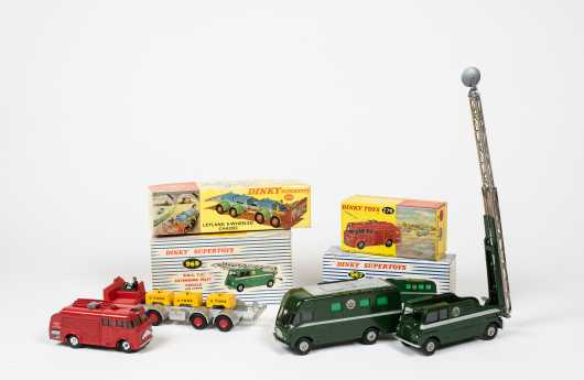 """Lot of Four """"Dinky Toys"""" Boxed Special Use Vehicles"""