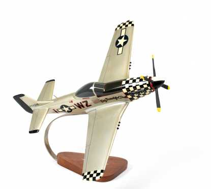 """North American Aviation P-51D Mustang Scale Model, """"Big Beautiful Doll"""" ."""