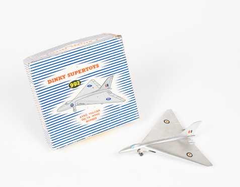 """Dinky Toys"" Avro Vulcan Delta Wing Bomber"