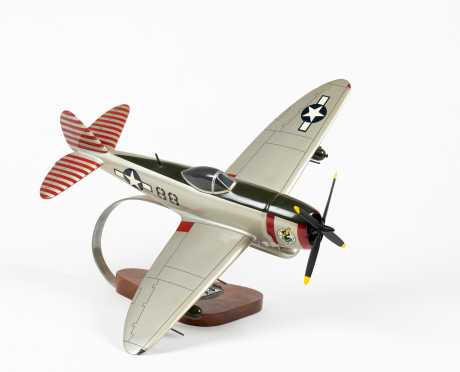 "Republic P-47D Thunderbolt Scale Model ""Rabbit"""