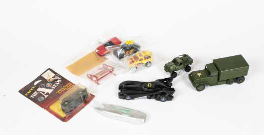 Lot of Nine Miscellaneous Cars
