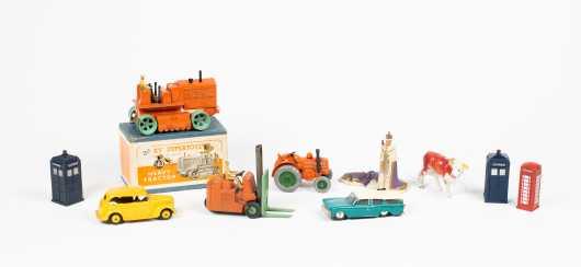 Eight Miscellaneous Toys