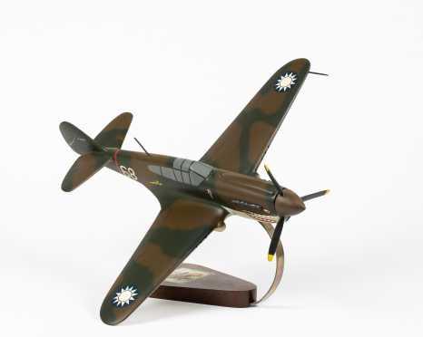 Curtiss P-40 Warhawk Scale Model