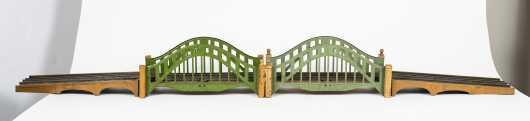 Two Lionel Standard Gauge Bridges