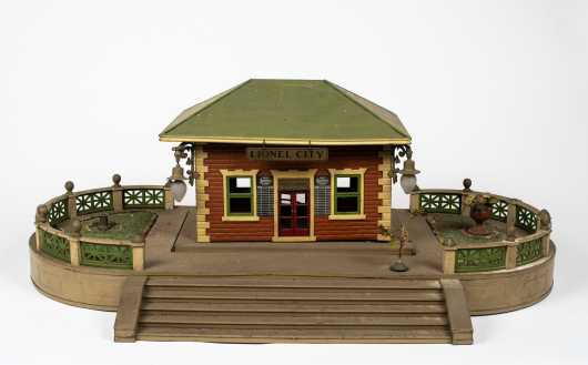 Lionel #129 Pre War Terrace with City Station #124