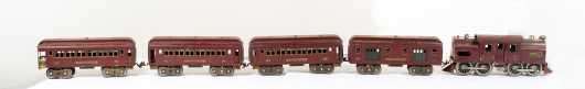 Lionel Standard Gauge Electric Locomotive Train Set