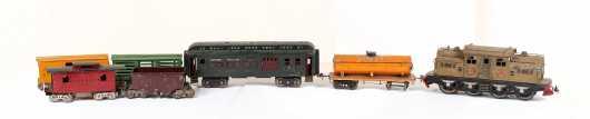 Lionel #408E (0-4-4-0) Electric Locomotive Plus Cars