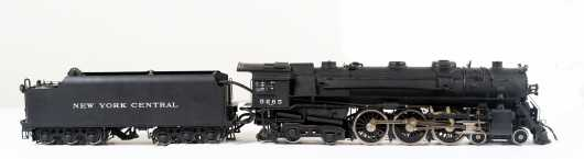 Aster NY Central Line Steam Locomotive and Tender, NYC Hudson #5265 (173/300)