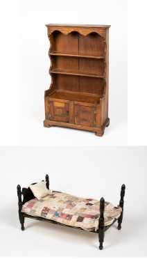 Lot of Dolls Furniture