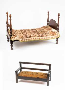 Lot of Doll's Furniture