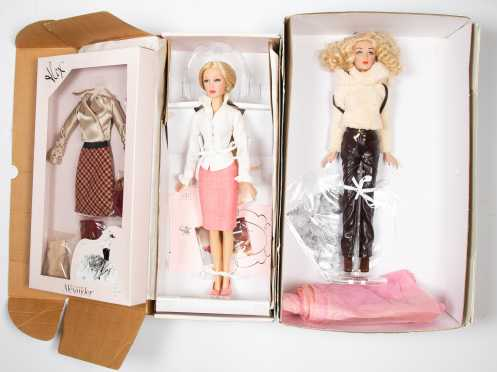Two Madame Alexander Dolls