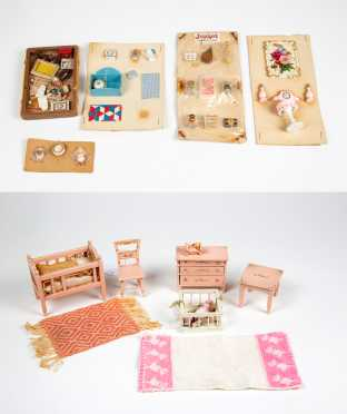 Four Pieces Toy Furniture