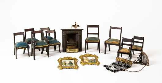 Lot of Biedermeier Chairs