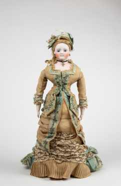 "20 "" Tall German Fashion Doll"