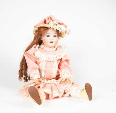 "24"" Heubach Bisque Head Doll"