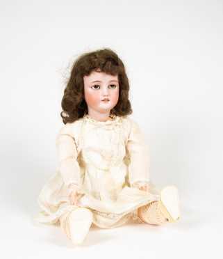 Simon Halbig Bisque Head Doll