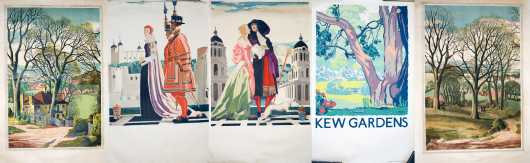 Five Posters of English Subjects