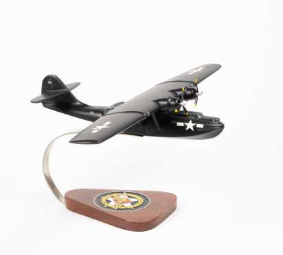 """Consolidated PBY Catalina Flying Boat Scale Model , 19 1/4"""" wingspan, 12"""" length"""