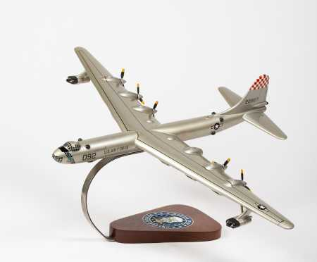 """Convair B-36 Peacemaker Scale Model  with US Air Force plaque, 22"""" wingspan, 16"""" length"""
