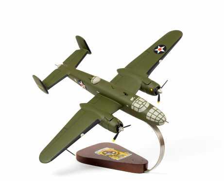 Mitchell B-25 'Doolittle Raiders' Scale Display Model