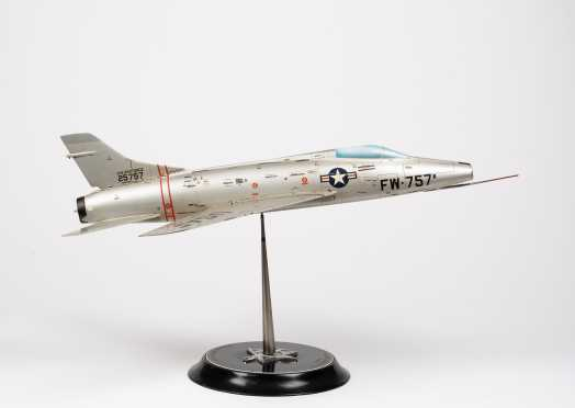 North American Aviation F-100B Scale Model