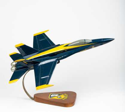 Boeing F/A-18 Super Hornet, Blue Angels, Scale Model