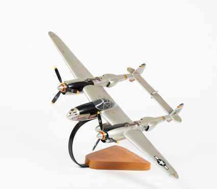 Lockheed P-38 Lightning 'Putt Putt Maru' Scale Display Model